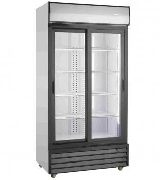 Getränkekühlschrank 2 Schiebetüren   800 Ltr   B1000xT720xH2020 mm