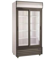 Getränkekühlschrank 2 Schiebetüren   1000 Ltr   B1130xT700xH2020 mm