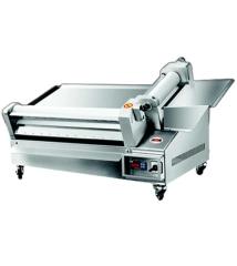 Pizzateigausrollmaschine   Teigdurchmesser 55 cm   B765xT540xH510 mm