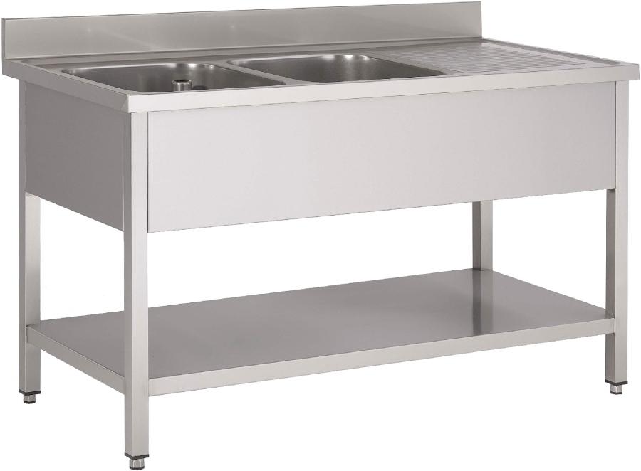 gastro hot sp ltisch modell anna 1600 mm. Black Bedroom Furniture Sets. Home Design Ideas